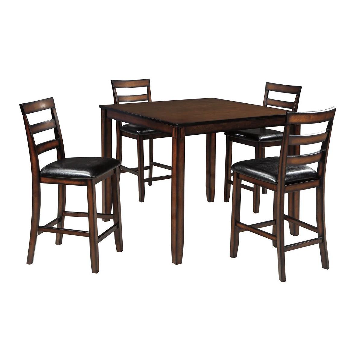 Coviar - Brown - DRM Counter Table Set (5/CN)