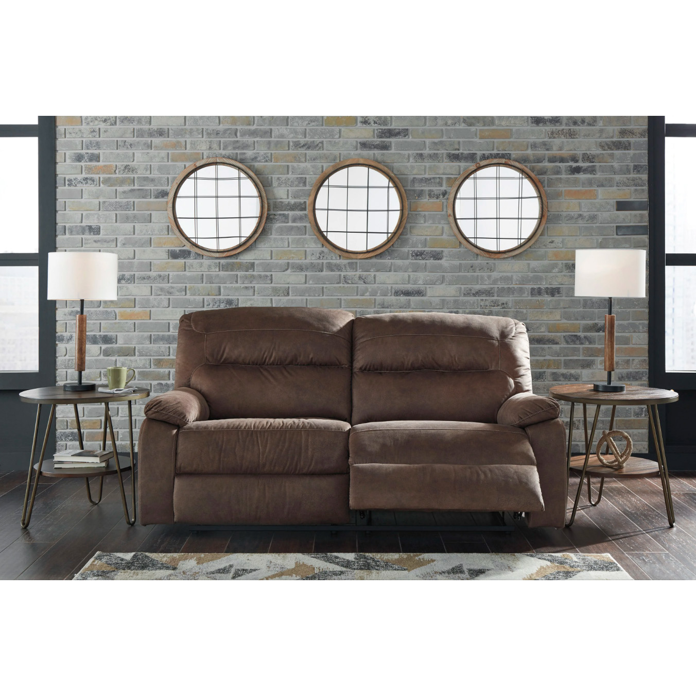 Bolzano - Coffee - 2 Seat Reclining Sofa