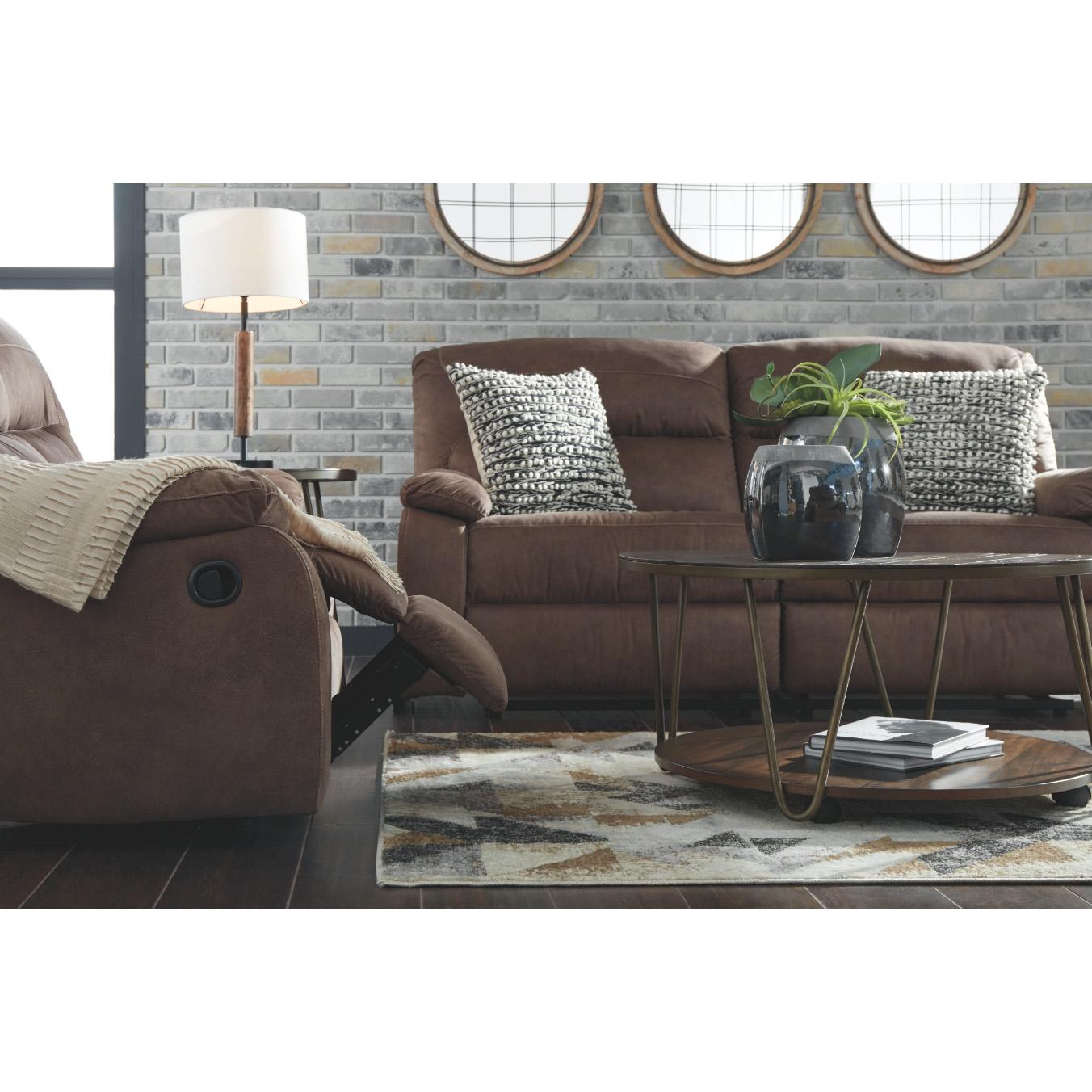 Bolzano - Coffee - 2 Seat Reclining Sofa