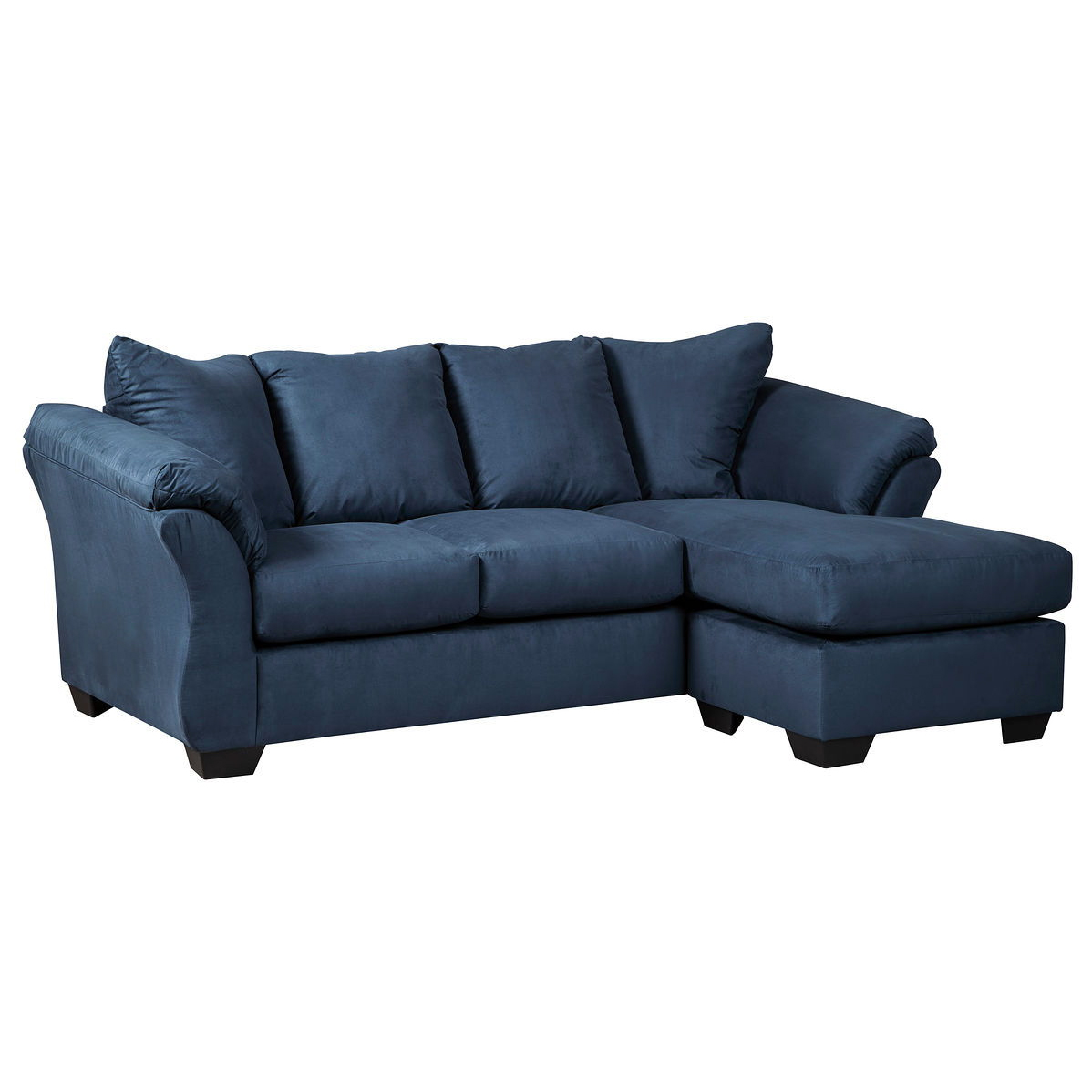 Darcy - Blue - Sofa Chaise